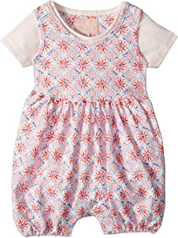 Joules Kids - Printed Overall and T-Shirt Set (Infant)
