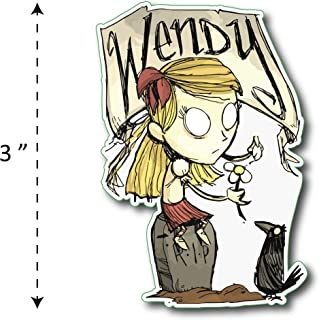 (TK-150) Don't Starve | Wendy - Waterproof Vinyl Sticker for Laptops Tablets Cars Motocycles Bicycle Skateboard Luggage Or Any Flat Surface (3