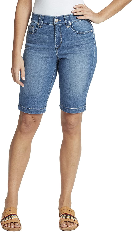 Gloria Vanderbilt Women's Amanda High Short Rise Max 59% OFF Bermuda service