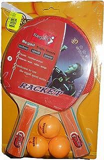 1bf07d7a04609 Regail 2 Raquettes + 3 BALLES Fluo. TECHNIC Speed Power de chez Racket Pro  Réf