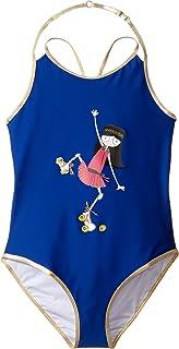 [マークジェイコブス] Little Marc Jacobs レディース One-Piece Miss Marc Swimsuit (Big Kids) 水着 [並行輸入品]