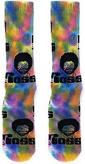 Oooh Yeah Unisex Crew Cotton Athletic Bob Ross Calcetines
