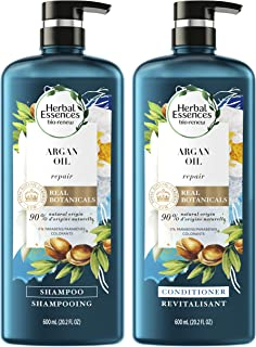 Herbal Essences, Repairing Argan Oil Of Morocco Shampoo and Conditioner set With Natural Source Ingredients, Color Safe, B...