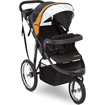 Jeep Deluxe Patriot Open Trails Jogger by Delta Children, Galaxy