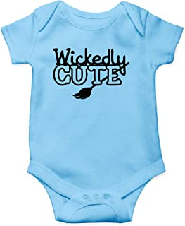 AW Fashions Wickedly Cute - Too Cute to Spoke - Funny Halloween One-Piece Infant Baby Bodysuit