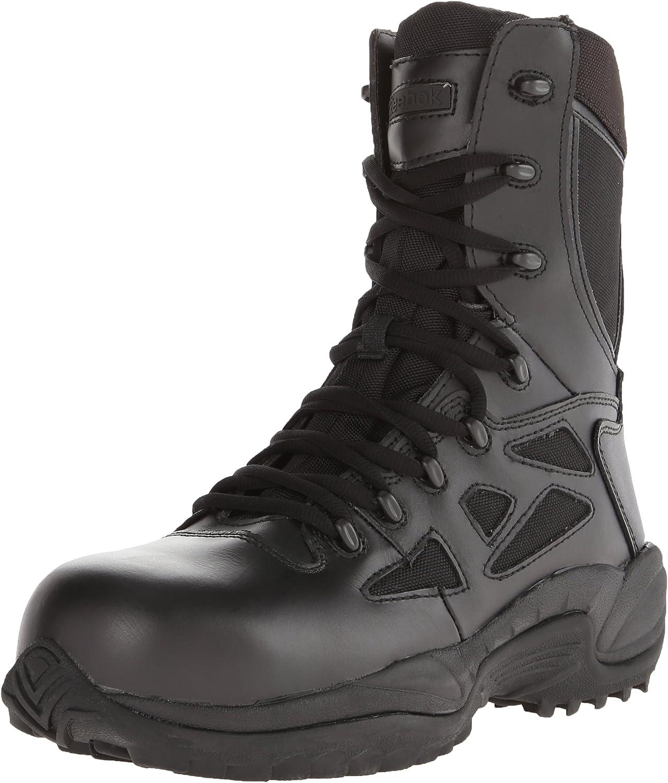 Reebok Work Duty Men's Rapid Response RB RB8874 8  Tactical Boot