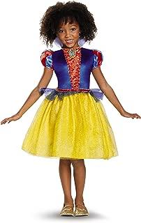Snow White Classic Disney Princess Snow White Costume, X-Small/3T-4T