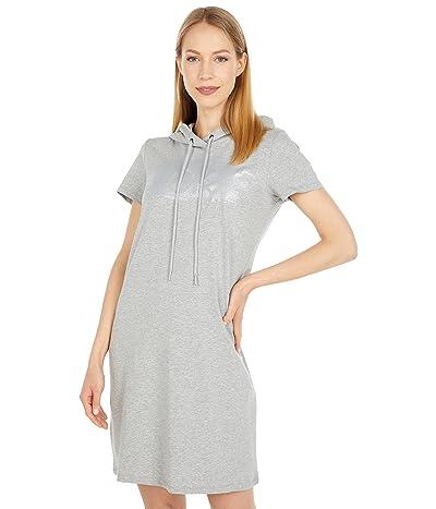Calvin Klein CK Logo Hoodie T-Shirt Dress