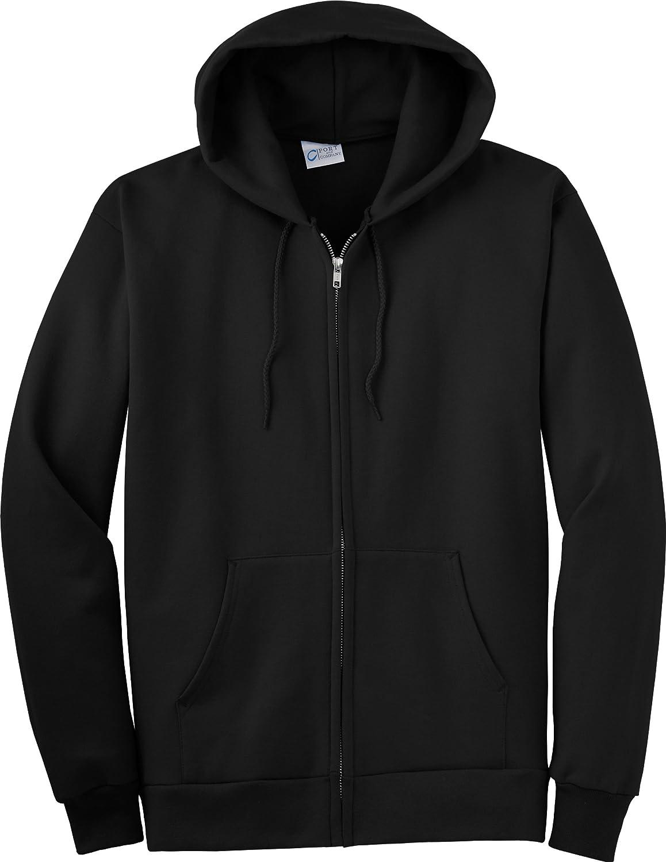 Port Company PC90ZH Full-Zip Topics on TV Hooded XXX-Large Black Sweatshirt All items free shipping