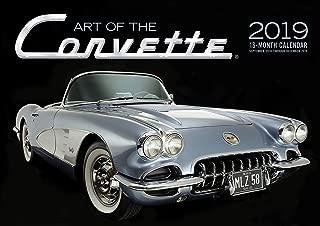 Art of the Corvette 2019: 16-Month Calendar Includes September 2018 through December 2019