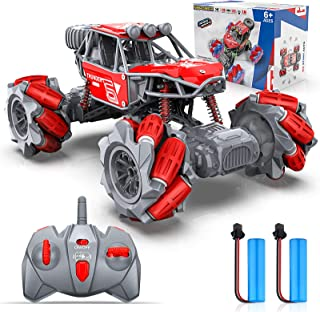 RC Cars, NBPOWER 4WD 2.4GHz ON/Off-Road Remote Control Car Trucks Monster, 20 KM/H RC Trucks with 2 Batteries Long Race Pl...