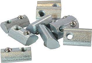10 x 8 Nutenstein nut type b-m4 avec chevalet et lourd en acier galvanis/é