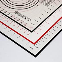 Silicion Baking Mat used to bake bread and measure bread non sticky baking mat (BLACK)