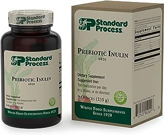 Standard Process - Prebiotic Inulin - Supports Bone Health, Immune System Function, Probiotic Intestinal Flora, Provides Fiber, Calcium, Magnesium, Gluten Free and Vegetarian - 9 oz. (255 g)