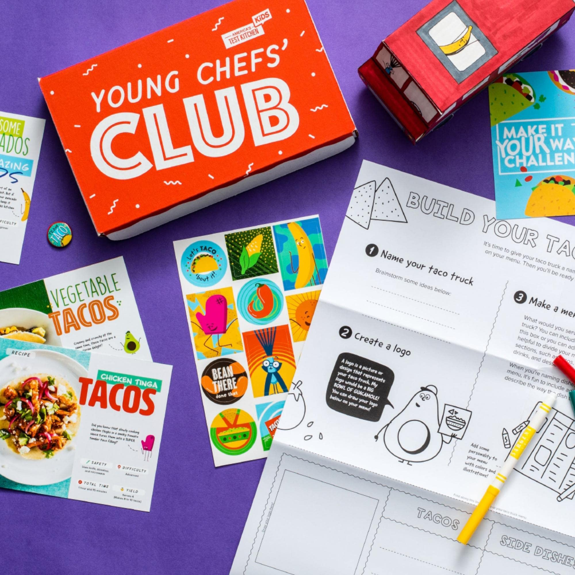 Amazon Com America S Test Kitchen Kids Young Chefs Club Subscription Memberships And Subscriptions