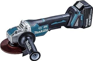 マキタ(Makita) 125mm充電式ディスクグラインダ 18V6Ah バッテリ2本・充電器・ケース付 GA520DRGX