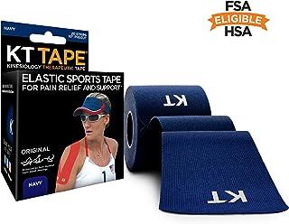 KT Tape Cotton Kinesiology نوار ورزشی نوار ، لاتکس رایگان ، قابل تنفس ، نوار درمانی ، انتخاب حرفه ای و المپیک ، گزینه های دقیق و ناخن ، 1 رول