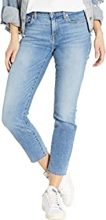 7 for All Mankind Womens Roxanne Ankle in Light Classic