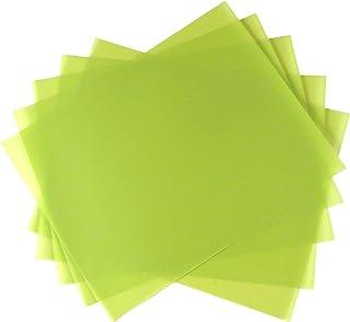 "5 Sheet Bundle 1 Micron (14,000 Grit) PSA Lapping Microfinishing Film Aluminum Oxide (AO) 8 1/2"" x 11"" 265Xx52"