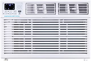 Emerson Quiet Kool Smart 15,000 BTU 115V Window Remote, Wi-Fi, and Voice Control, EARC15RSE1 Air Conditioner, White