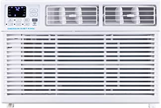 Emerson Quiet Kool Smart 15,000 BTU 115V Window Remote, Wi-Fi, and Voice Control, EARC15RSE1 Air Conditioner, White