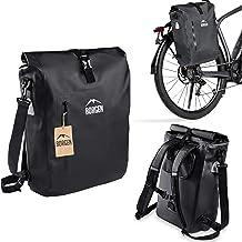 Borgen fietstas voor bagagedrager 3-in-1 fietsrugzak I bagagedragertas I schoudertas - combi fietstas - 100% waterdicht en...