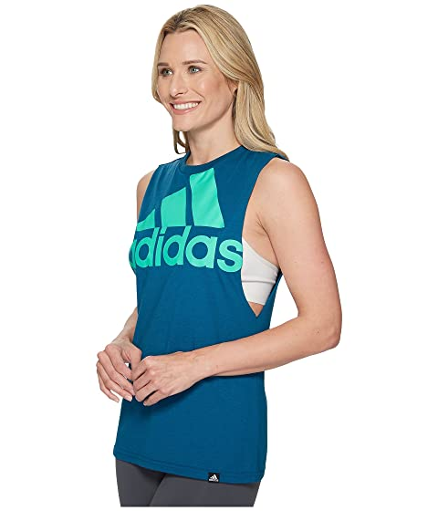 mangas Teal Hack of adidas Sport Badge Real camiseta sin Green Hi musculoso Res qSzawY