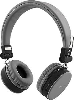 STREETZ HL-424 justerbart pannband över örat hopfällbara hörlurar – grå