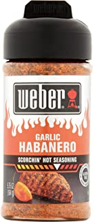 Weber Garlic Habanero Scorchin` Hot Seasoning (NET WT 5.75 OZ)