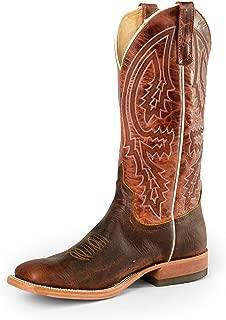 Mens Mike Tyson Bison Rust Lava Cowboy Boots