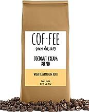 Coconut Cream Blend Whole Bean Coffee, Medium Roast, 1-Pound Bag