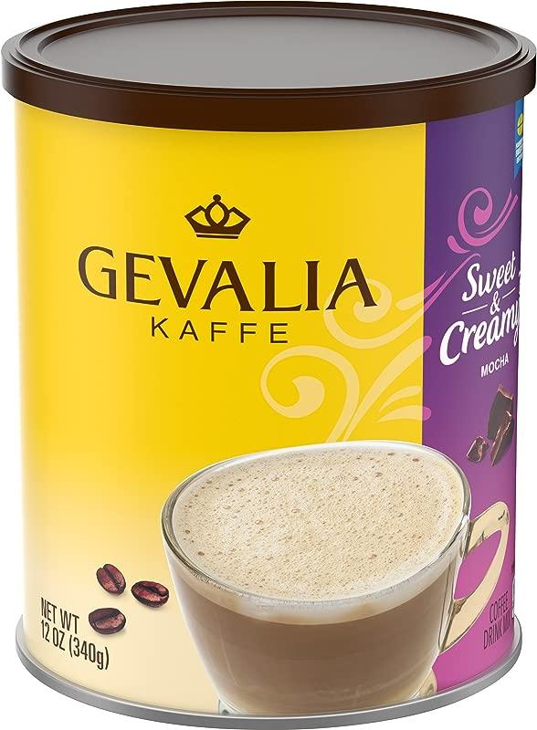 Gevalia Sweet Creamy Mocha Coffee Mix 12 Oz Tin
