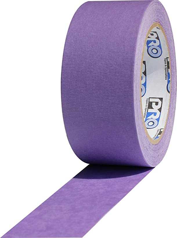 ProTapes Pro Scenic 728 Acrylic 30 Day Easy Release Painters Masking Tape, 60 yds Length x 3/4