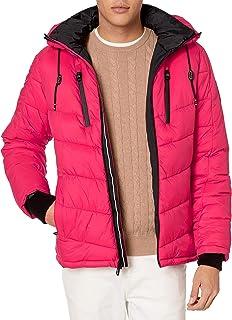 Calvin Klein Men's Neon Puffer Jacket Parka