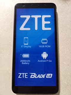 "ZTE Blade L8 2019 5"" 16GB Android 9.0 Pie Go Edition Factory Unlocked (Gold)"