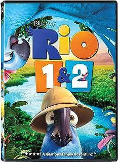 Rio 1 & 2 Double Feature   DVD   Box Set