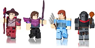 Roblox Celebrity Collection - Vesteria: Dark Forest Four Figure Pack [Includes Exclusive Virtual Item]