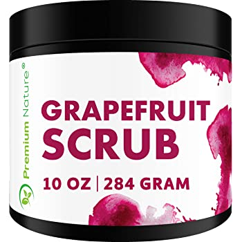 Amazon Com Exfoliating Grapefruit Face Body Scrub Best Skin