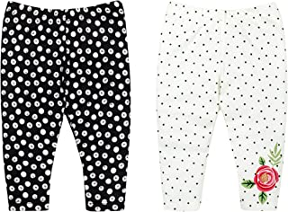 LAMAZE Baby Girls Organic 2 Pack Pants