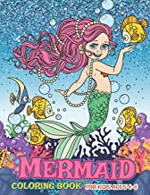 Mermaid Coloring Book for Kids Ages 4-8: Under The Sea Coloring Books for Girls - Fun with Big Images and Cute Mermaid.