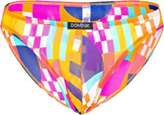 Dominik Abstract Multi Colors Briefs Underwear, Mens