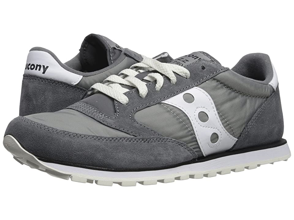 Saucony Originals Jazz Low Pro (Grey/White 1) Men