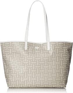 Lacoste Shopping Bag Jumpsuitgrafico Beige Woman