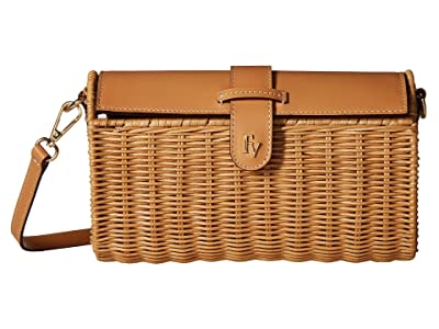 Frances Valentine Betsy Crossbody (Natural/Natural) Handbags