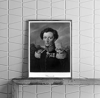 INFINITE PHOTOGRAPHS Photo: Karl von Clausewitz, 1780-1831, Prussian Soldier, War Size: 8x10 (Approximately)