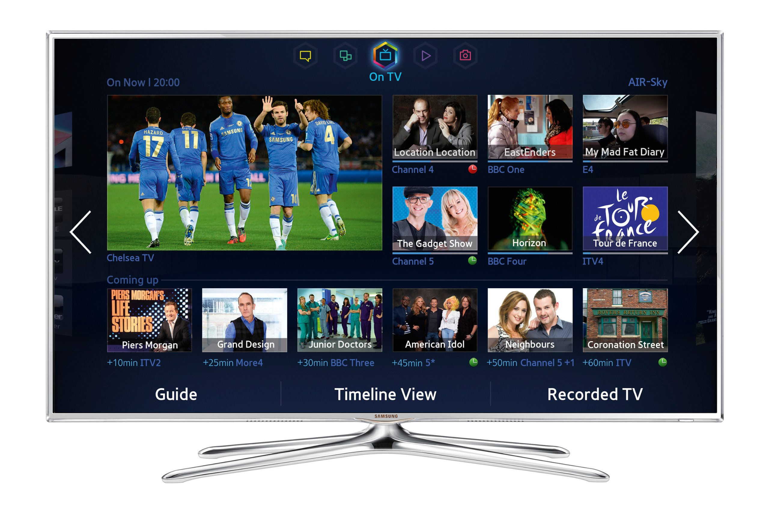 Samsung UE55F6510 55-Inch Widescreen 1080p Full HD 3D Smart LED TV with Freeview, S Recommendation, Voice Interaction, Dual Core Processing: Amazon.es: Electrónica