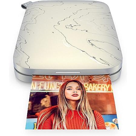 HP Sprocket Select Imprimante photo portable pour appareils Android et iOS (Eclipse) Imprime sur papier photo Zink à dos collant 2,3 x 3,4 pouces
