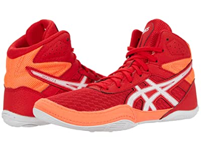 ASICS Kids Matflex 6 (Toddler/Little Kid/Big Kid) (Classic Red/Flash Coral) Kids Shoes