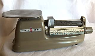 Pitney Bowes 1950s Postal Scale Model 4900 Low Serial No.
