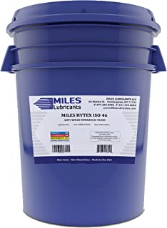 Miles Hytex ISO 46 Anti Wear Hydraulic Fluid 5 Gallon Pail